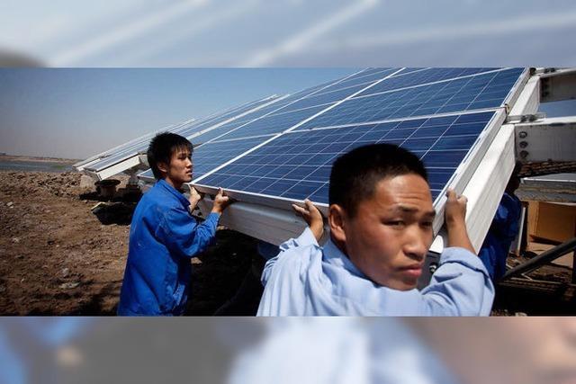 China, die USA und die EU streiten über Strafzölle auf chinesische Solarmodule