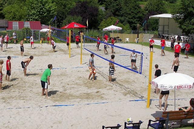 Spiel und Spaß im Sand