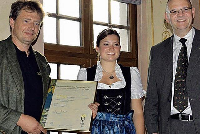 Dritter Sieg in Folge beim Müller-Thurgau-Preis