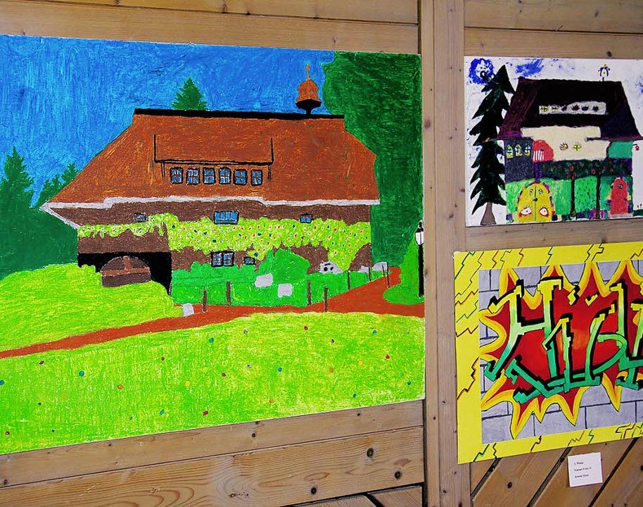 Farbig und kreativ: Ausstellung der Sc... Haus des Gastes bis Sonntag geöffnet.  | Foto: Chris Seifried
