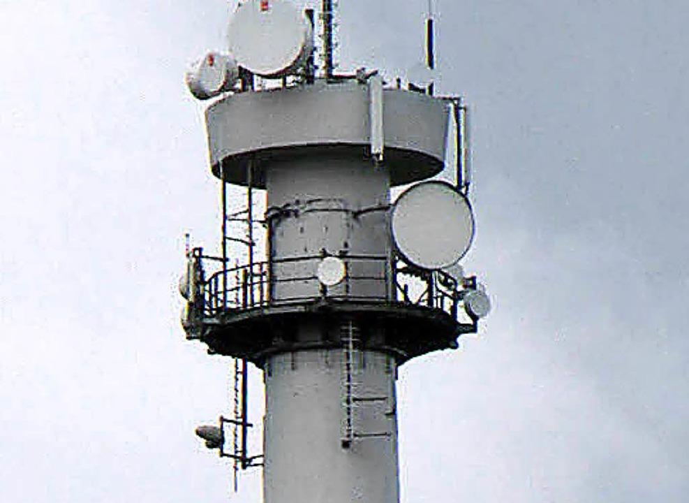 LTE-Technik konnte auf dem Staufenkopf... Land Baden-Württemberg gekauft wurde.    Foto: Wilfried Dieckmann