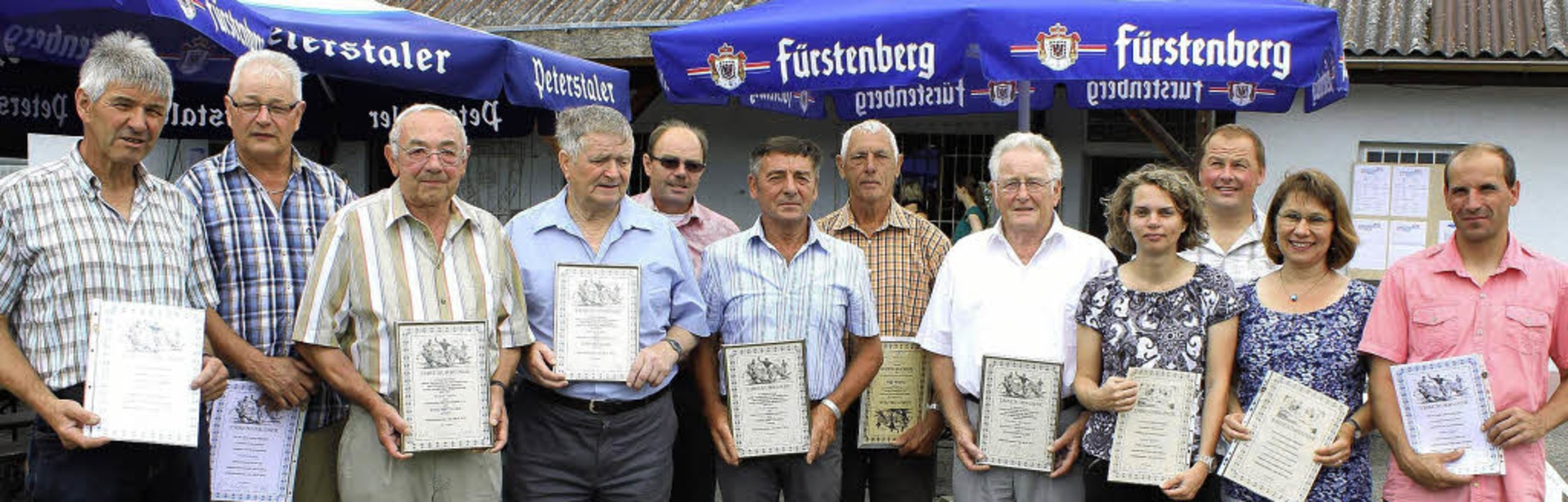 Ehrungen beim SV Ettenheimweiler: (von...ine Bastian-Enderle und  Heiko Seiler   | Foto: Ulrike Hiller