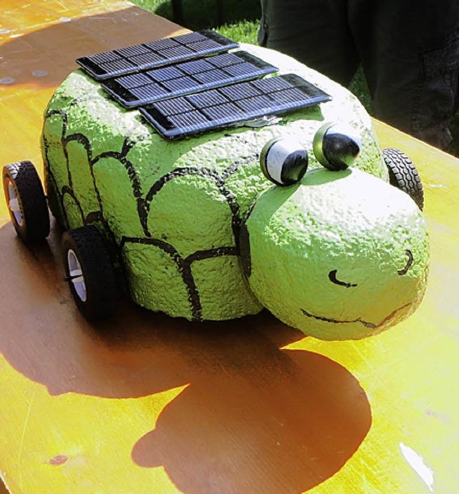 Schildkröte auf Rädern  | Foto: zipfel