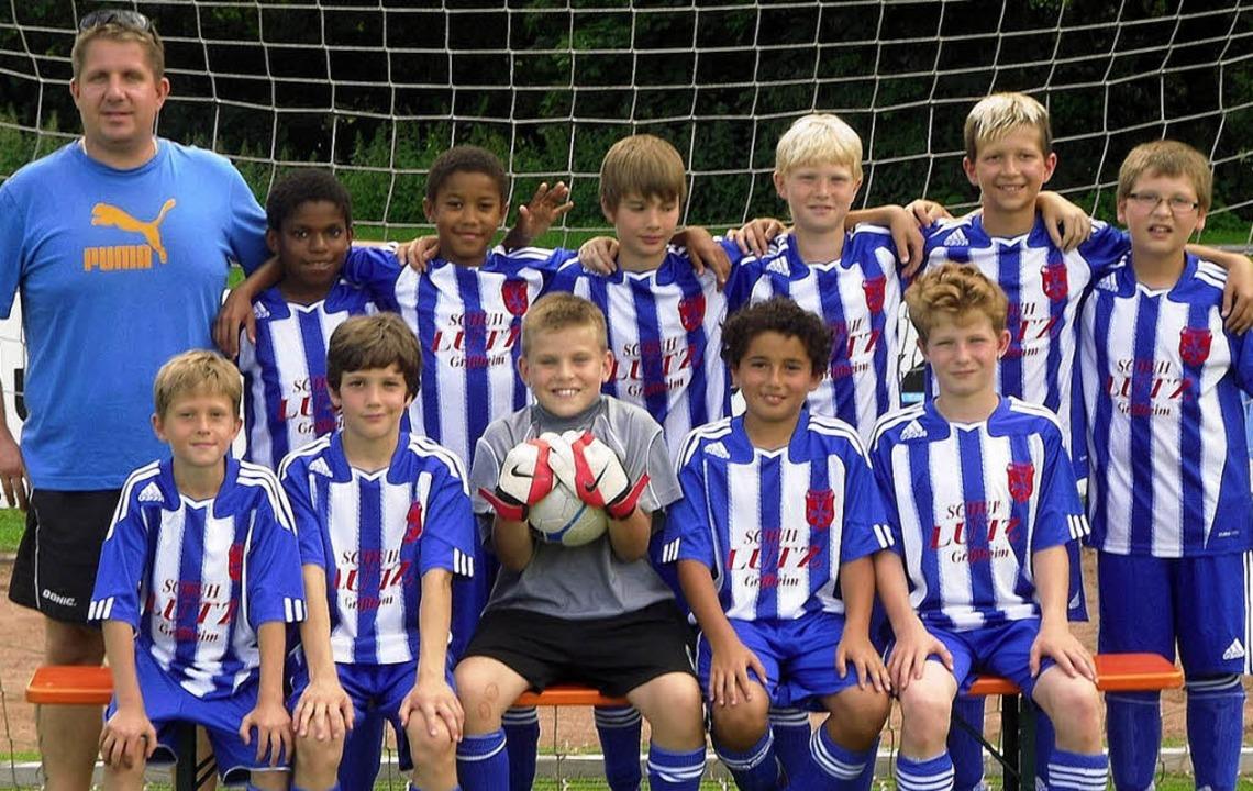 Die meisterlichen E1-Jungs vom FC Heitersheim     Foto: Marco Kiefer