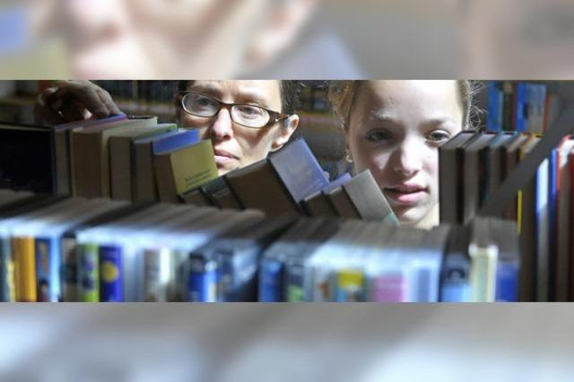 Ausleihrekord der Stadtbibliothek im Jahr 2011