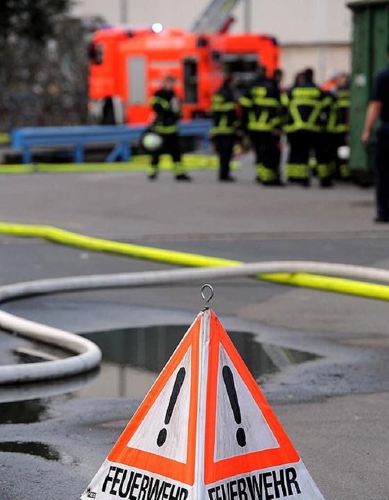 In Murg werden wieder alle Feuerwehrle... einem Einsatz ausrücken, abgerechnet.  | Foto: dpa
