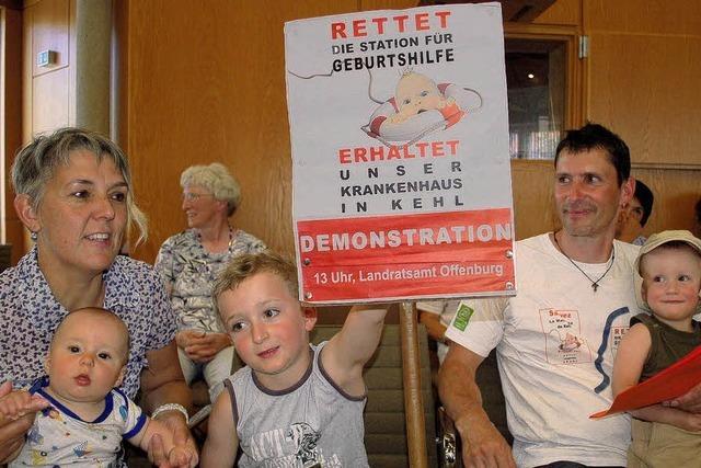Krankenhausausschuss: Geburtshilfe Oberkirch erhalten - Kehl schließen