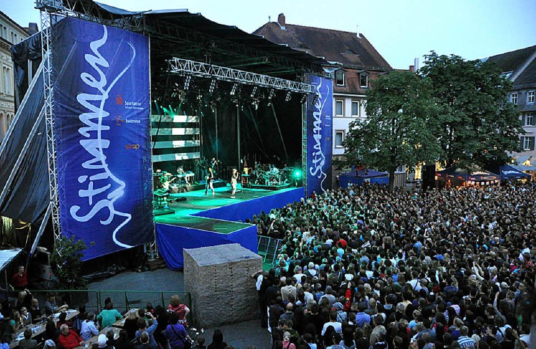 Markante Bühnen: Marktplatz, Wenken- und<ppp> </ppp>  | Foto: Barbara Ruda