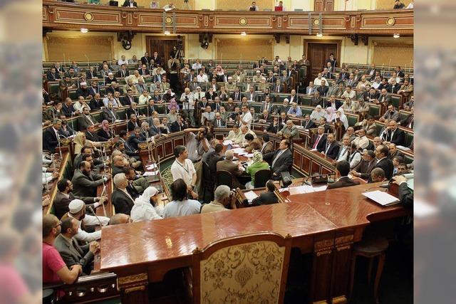 Ägyptisches Parlament: Sitzung endet nach zehn Minuten