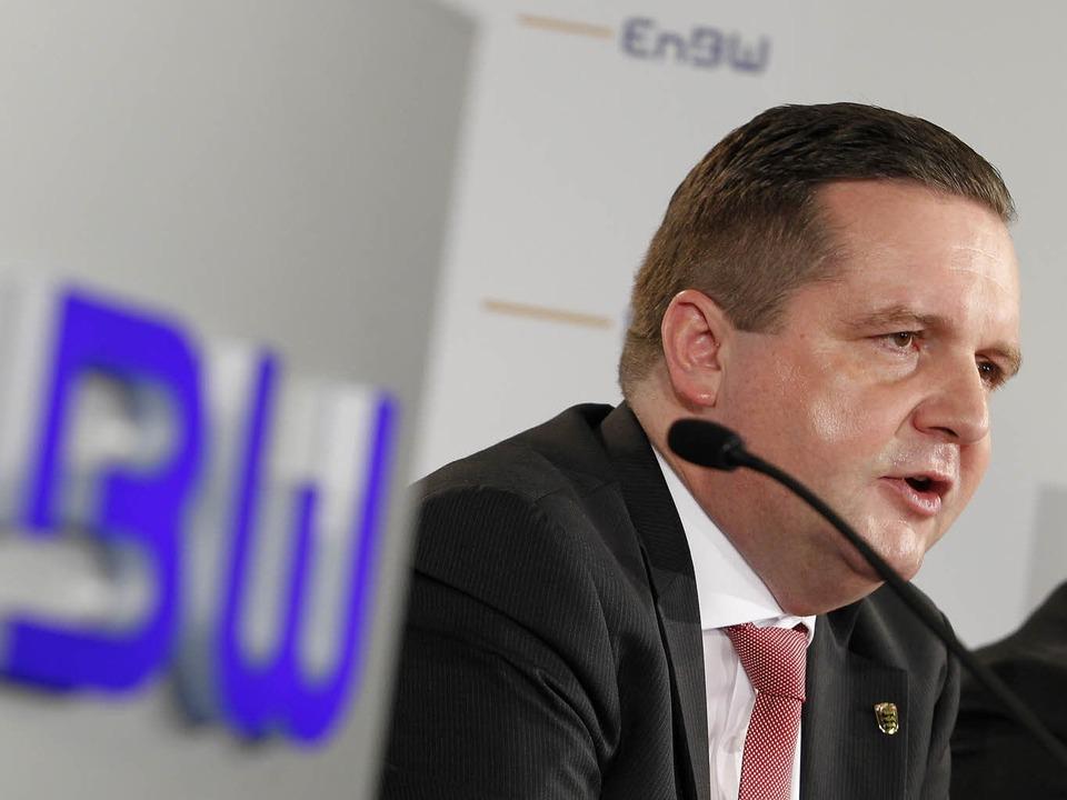 Wegen des EnBW-Deals in der Klemme: Stefan Mappus.  | Foto: dapd
