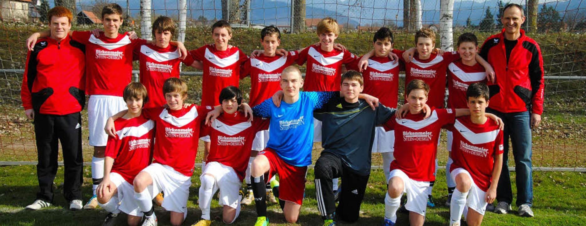 Überlegen errangen die C-Junioren der ...sel den Meistertitel in der Kreisliga.    Foto: privat