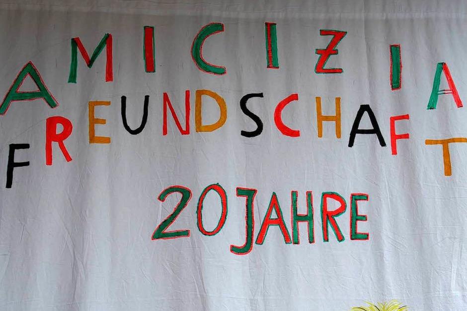 Impressionen vom Partnerschaftstreffen in Schallstadt<?ZP?> (Foto: Tanja Bury)