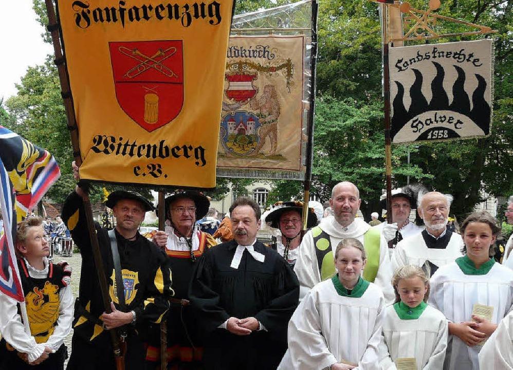 Ein ökumenischer Gottesdienst wurde in St. Margarethen gefeiert   | Foto: wß