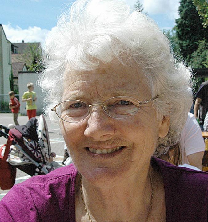 Elisabeth Weiss: Unsere Lehrer haben s...damals mit Buben und Mädels angeredet.    Foto: Martina Proprenter