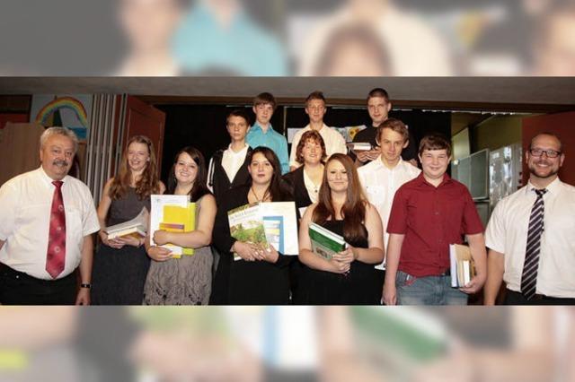 Förderschule-Absolventen mit Berufsperspektiven