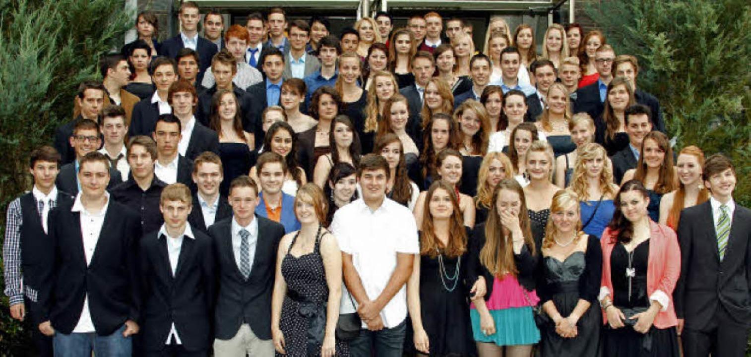 Sagen der Realschule nun Adieu: die En... Realschule am Giersberg Kirchzarten.   | Foto: privat