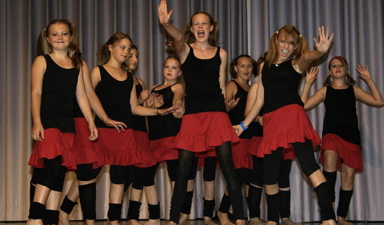 Ausschnitt aus dem Highschool Musical    Foto: Friederike Marx-Kohlstädt