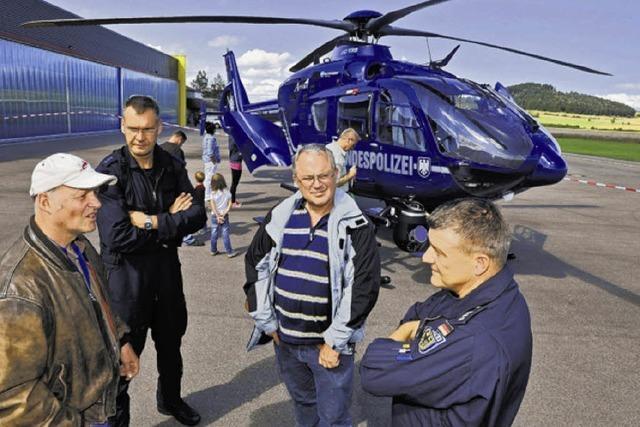 Der Helikopter ist der Star