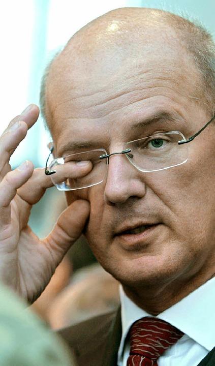 Siegfried Kauder wird ein selbstherrlicher Führungsstil vorgeworfen.       Foto: DPA