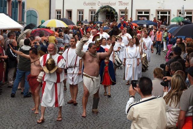 Tausende beim Römertag