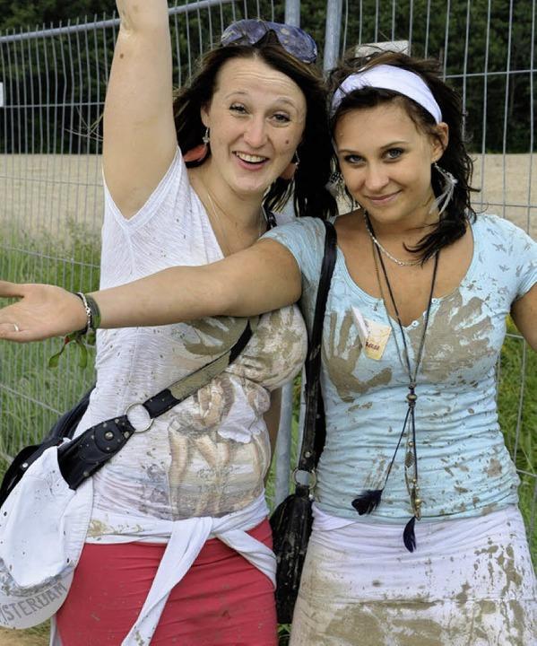 Schlammlook fürs Matschwetter  | Foto: nadine zeller