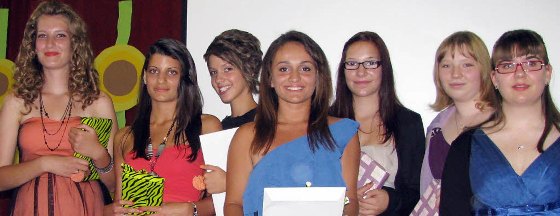 Ausgezeichnet wurden die  Besten ihrer...ck, Anika Kownatzki und Jasmin Wuttke     Foto: Michael Gottstein
