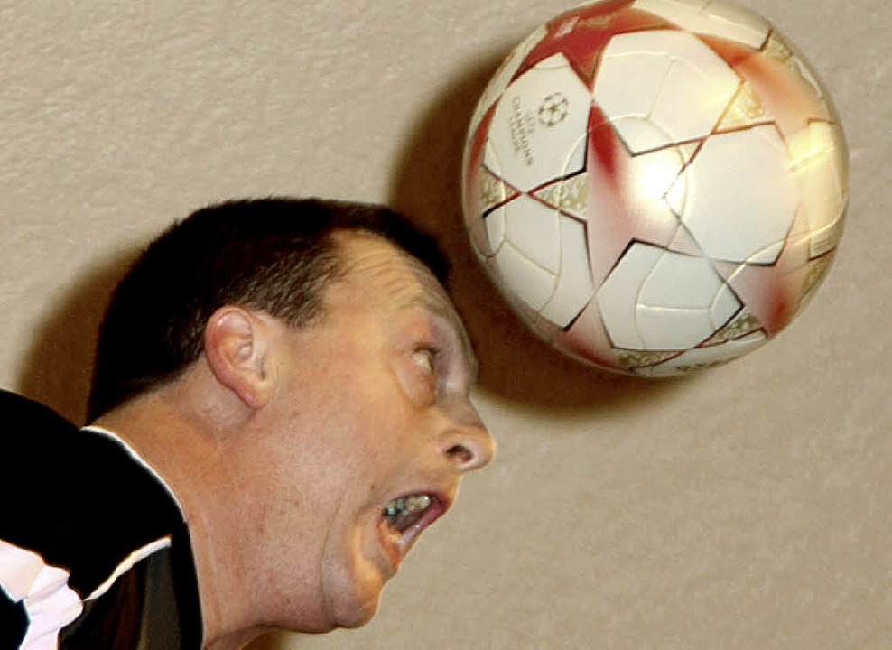 Was Alfred Reindl am Ball kann, kann sonst keiner.    Foto: Jörn Kerckhoff