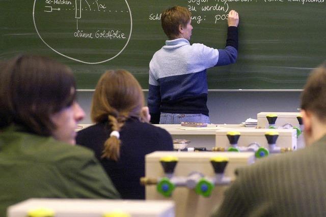 Viel zu wenig Lehrer
