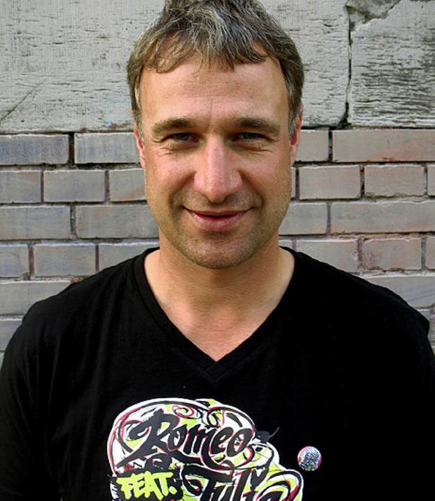 Marco Bode mit Shirt    Foto: Rudiger
