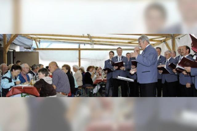 Platzkonzert wird zum kleinen Vogelbacher Dorffest