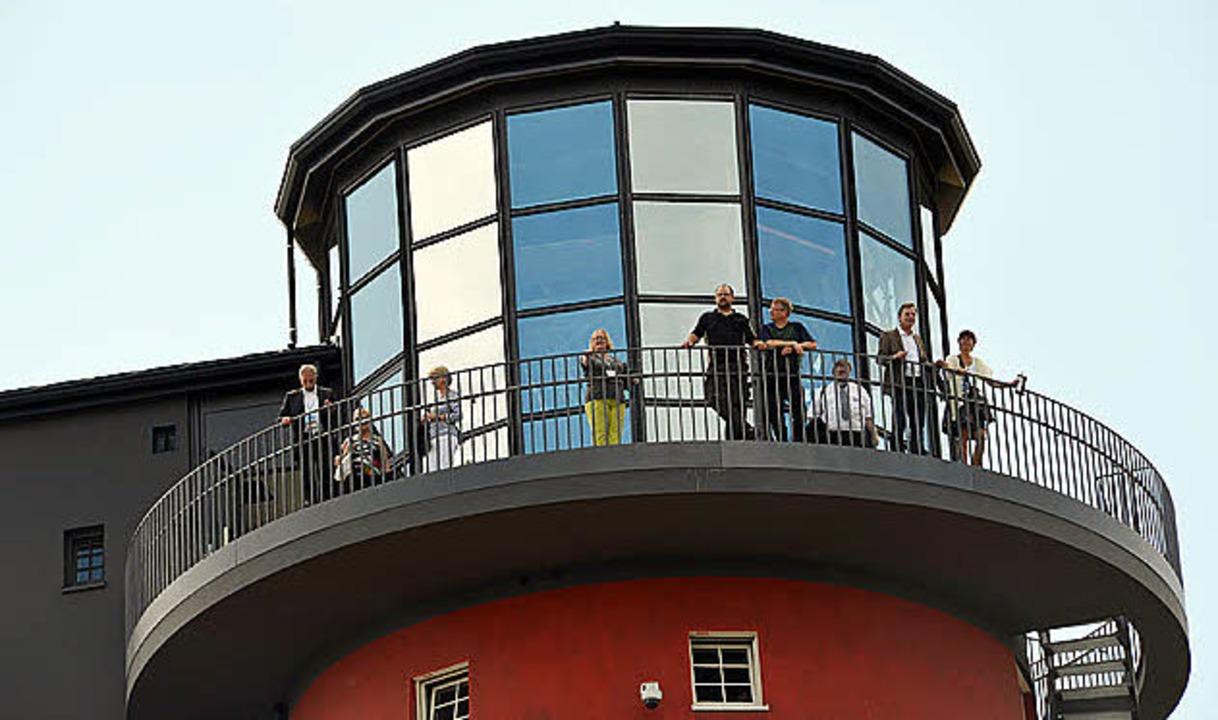 Soll der Ruster Leuchtturm leuchten?     Foto: Kramberg