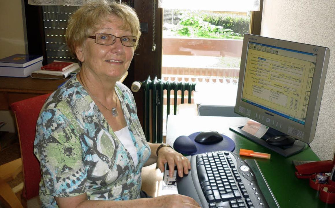 Annegret Rees ging es bei ihren Recher...e der Menschen in Zell und Hinterhag.   | Foto: privat