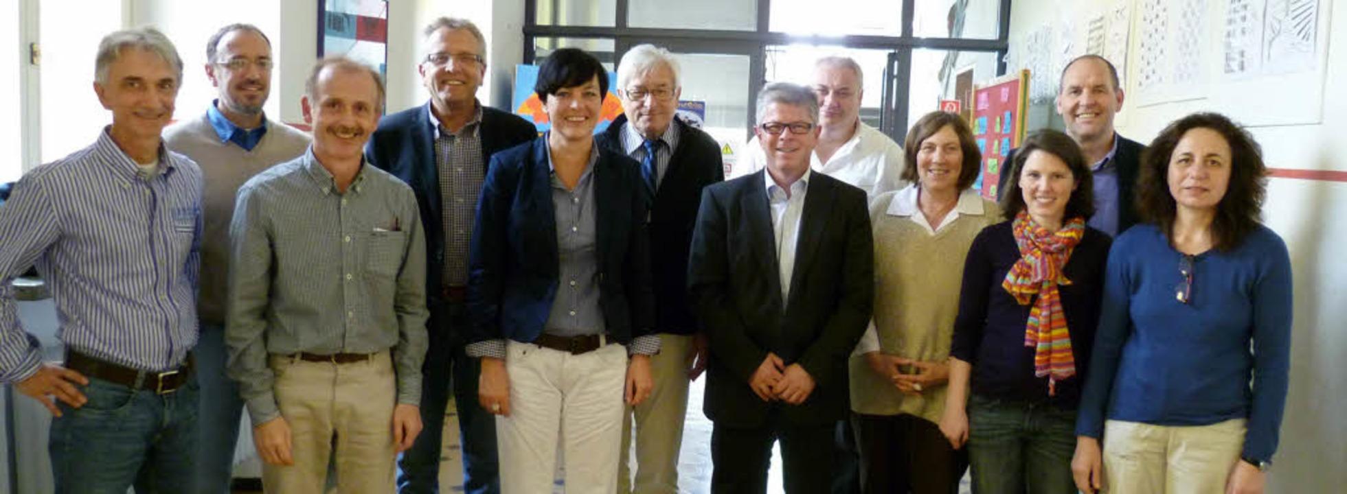 Das Berufswege-Team der Lahrer Friedri...tantin Bürkle und  Martin Burckhardt.   | Foto: Schule