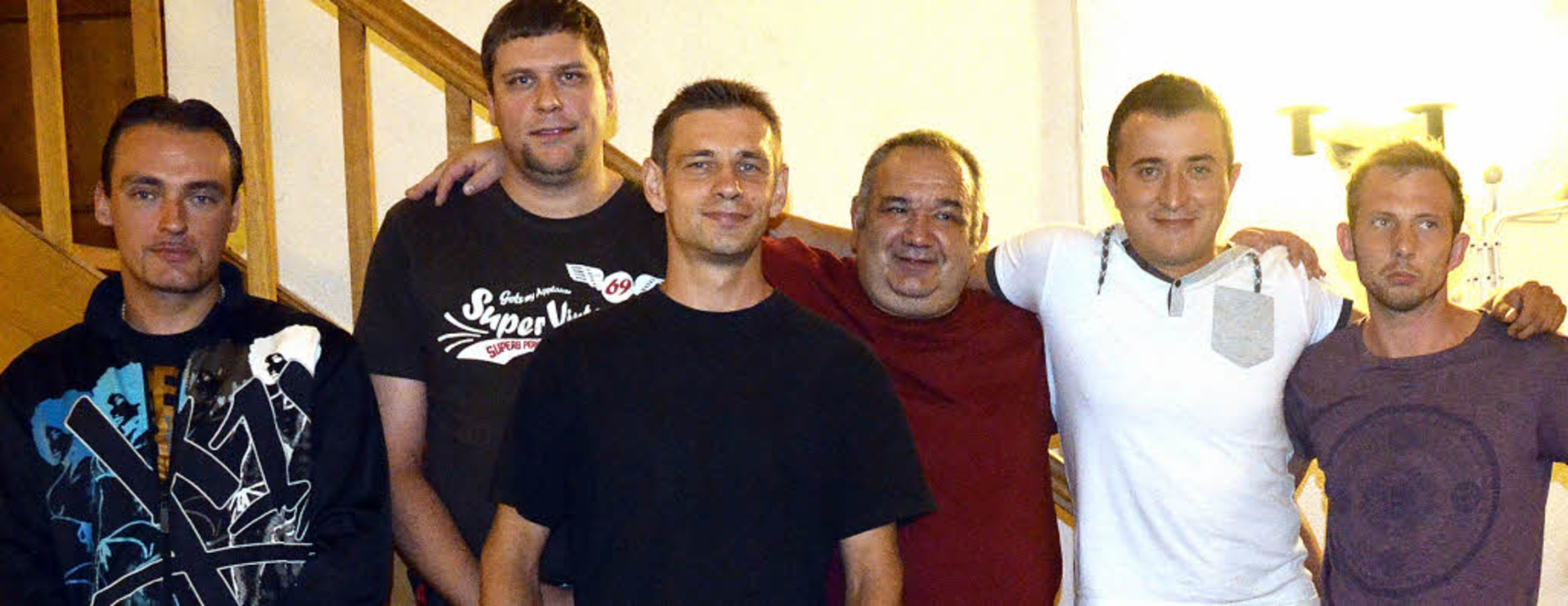 Führen bis zum Jahresende die Geschäft...d Beisitzer Heinrich Lehr (von links)     Foto: ADRIAN STEINECK