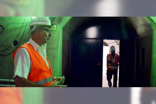 Feuerwehr als Tunnelretter
