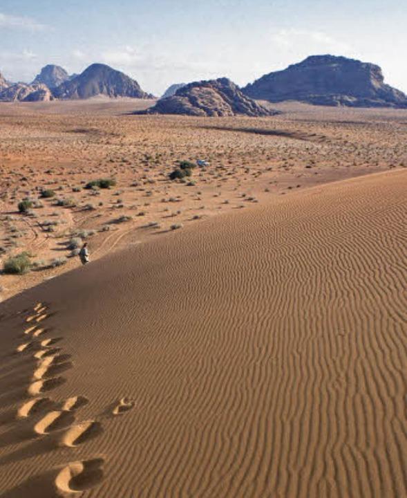 Im Süden Jordaniens gibt es beeindruck...a möchte so viel besuchen wie möglich.  | Foto: jord.Fremdenverkehrsamt