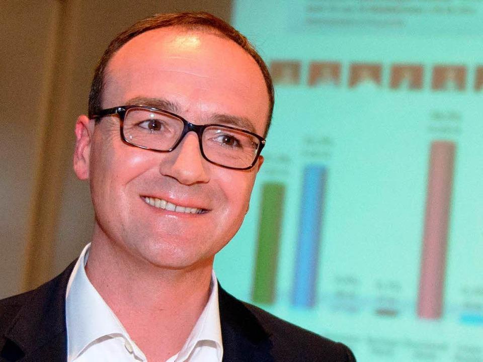 Uli Burchardt wird der neue Oberbürgermeister von Konstanz.  | Foto: dpa