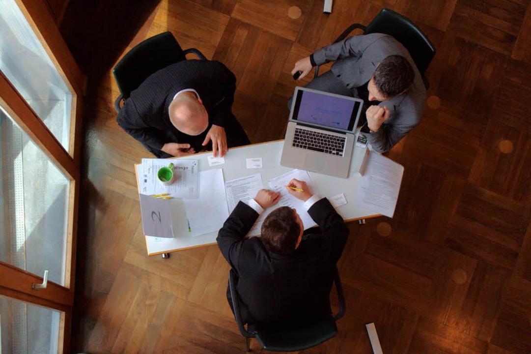 Schnell, schnell – sechs Minuten...it, um eine Geschäftsidee zu erklären.  | Foto: Patrik Müller