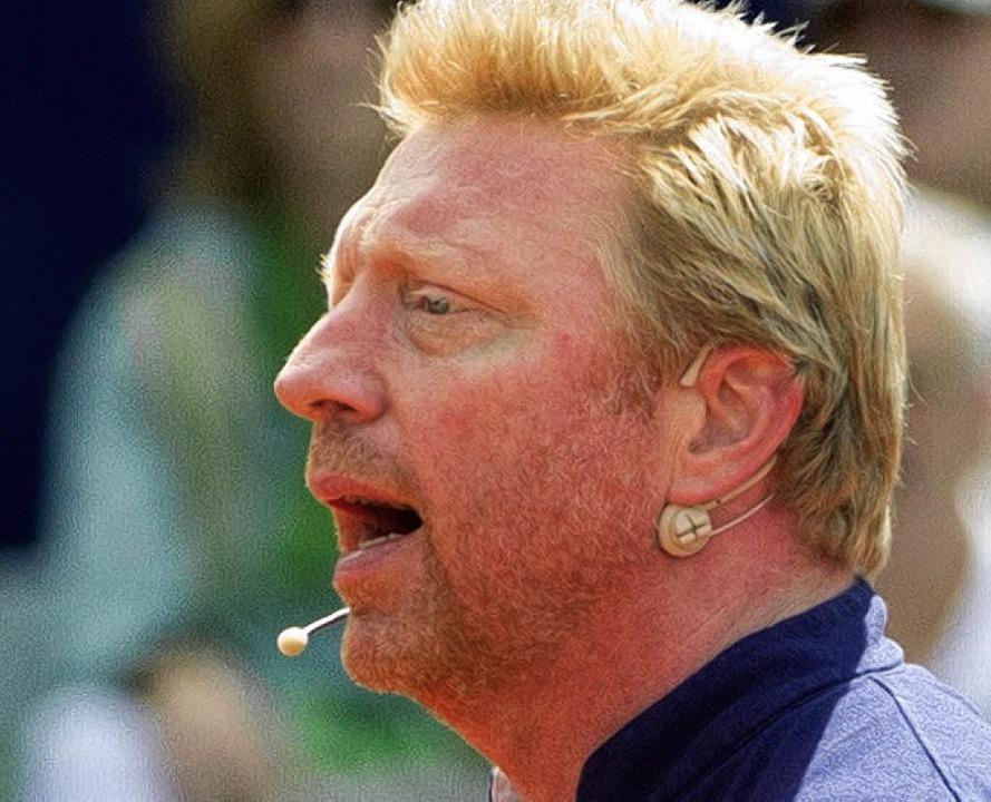 Boris Becker    Foto: DPA