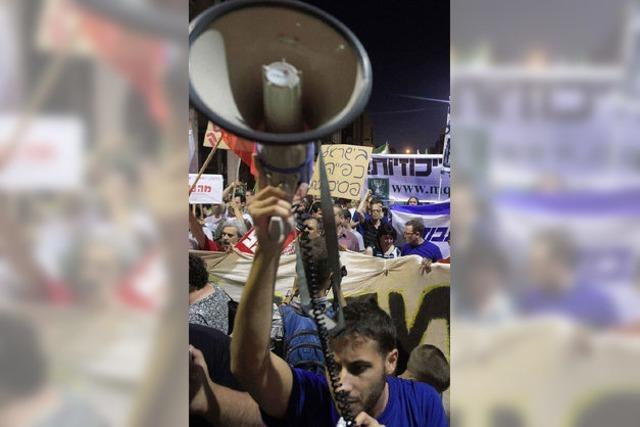 Eine Selbstverbrennung schockt Israel