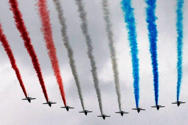 Krise: Frankreich landet hart