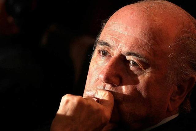 Es wird einsam um Joseph Blatter