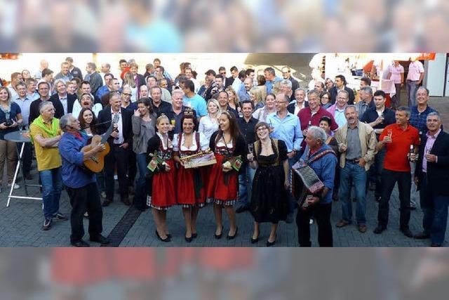 Gäste aus 23 Ländern der Erde