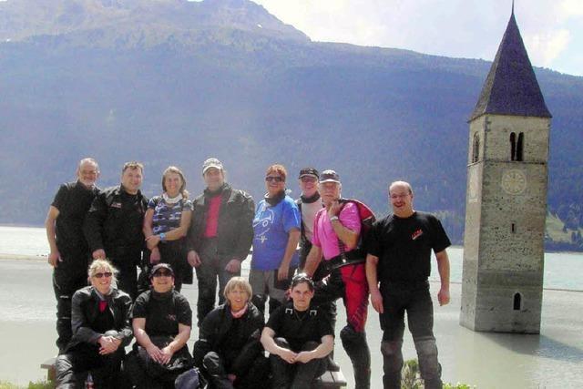 In den Südtiroler Bergen
