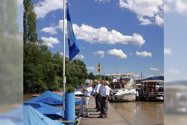 Die blaue Flagge weht wieder