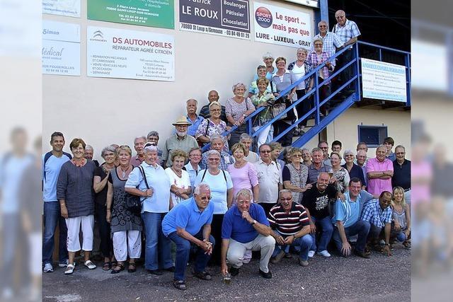 Grillen mit den französischen Freunden