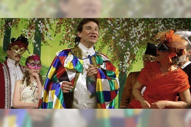 Fein gewobene Mozart-Collage