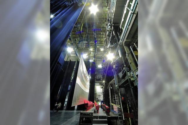 Sanierung der Bühnentechnik läuft - Theater sucht Ersatzspielstätte