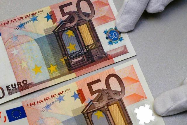 Geldfälscher beißen sich am Euro die Zähne aus