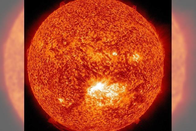 Sonnensturm: Keine Gefahr aus dem All